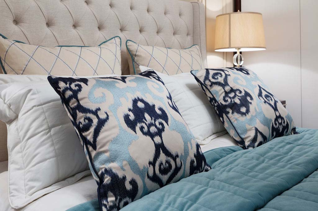 Home Styling - Custom Bedroom Cushions